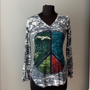 GO COUTURE Long Sleeve Top